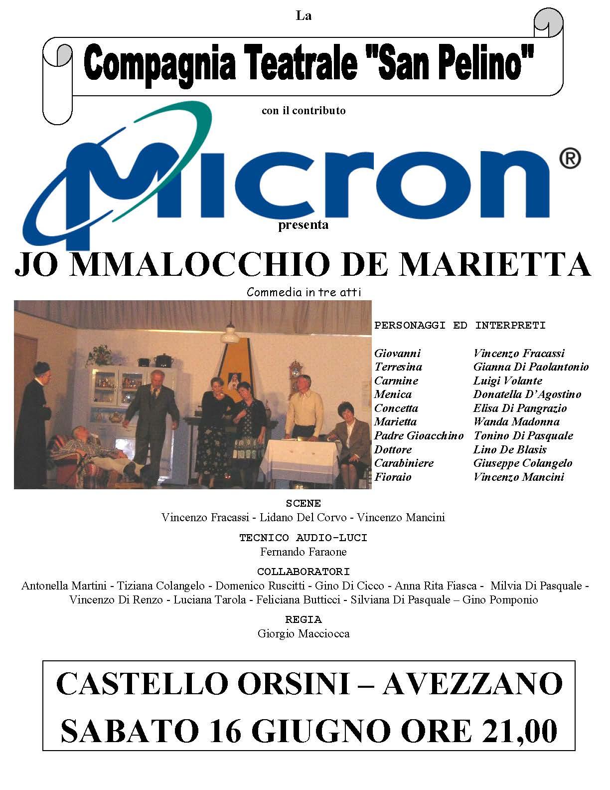 Jo Malocchio 2007