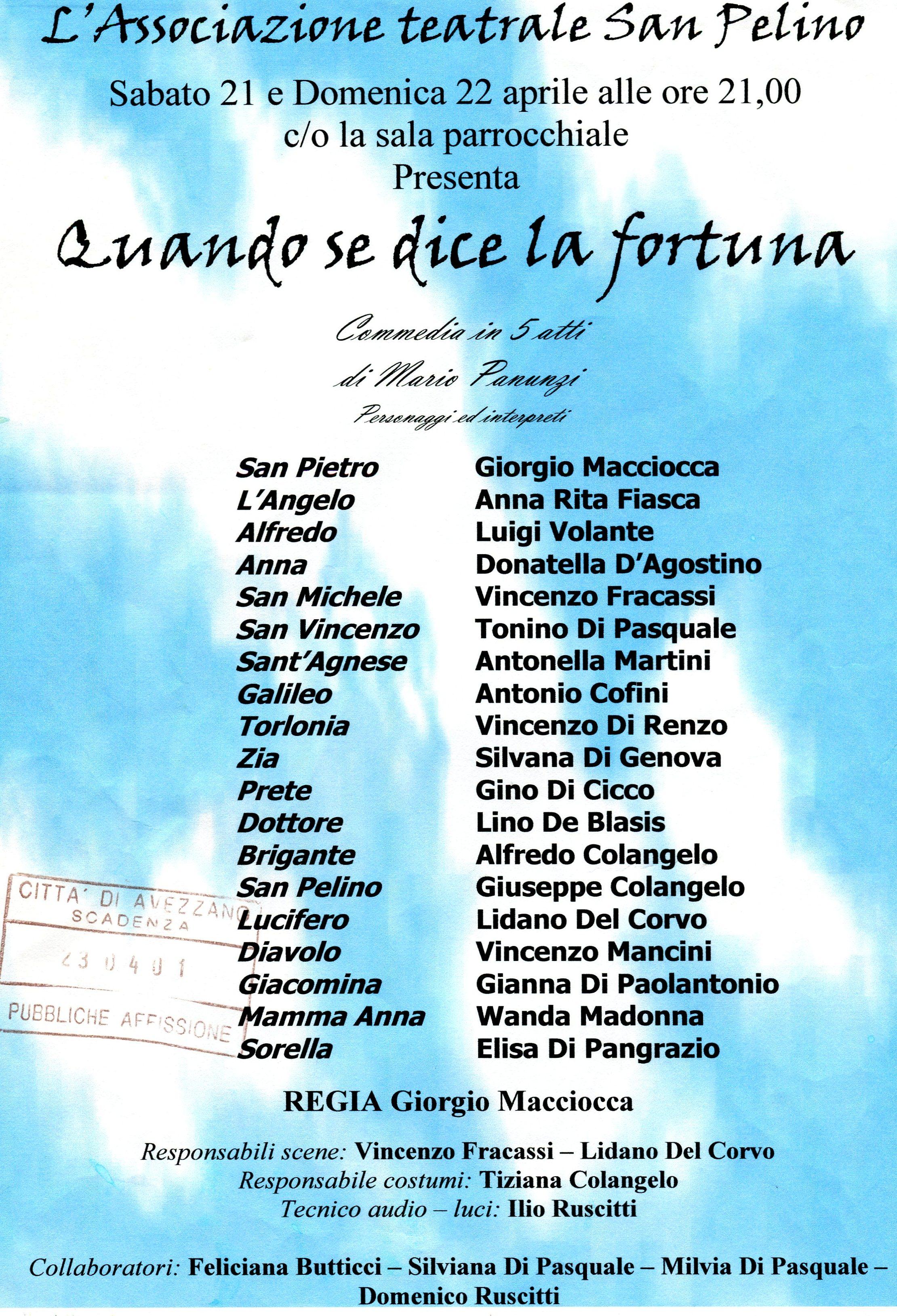 Locandina 2001