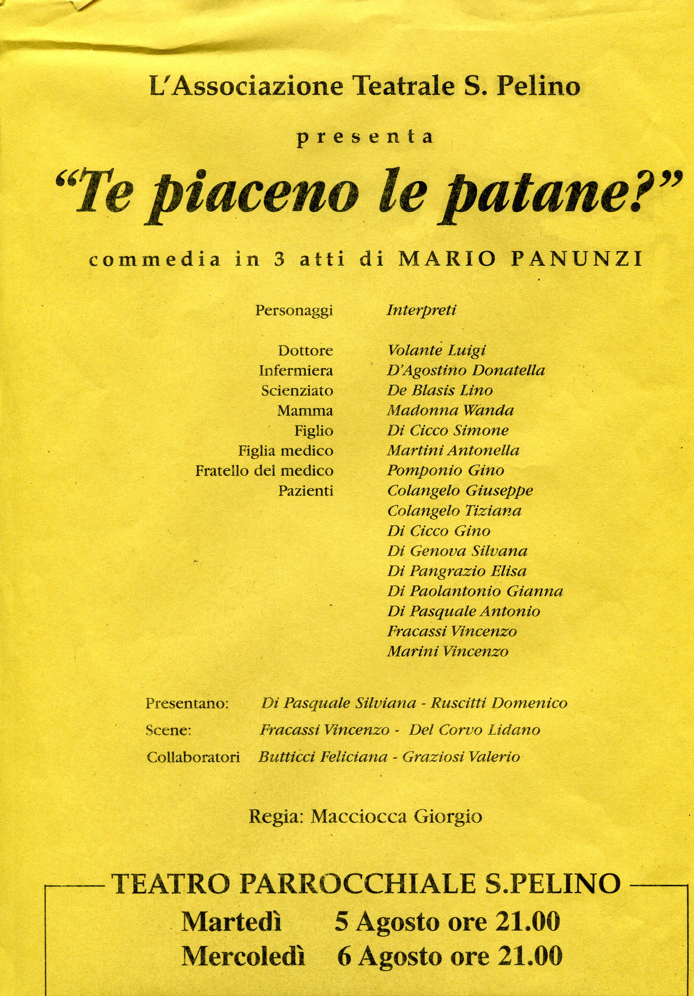 Le Patane 2006